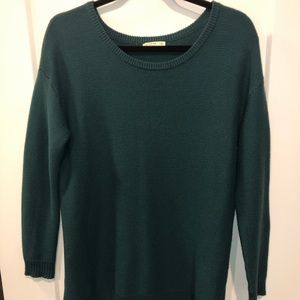 Green Cotton on sweater